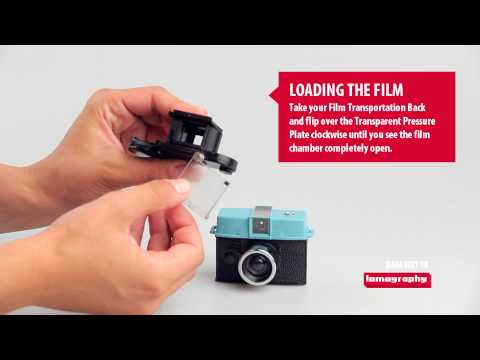 Loading Film on the Diana Baby 110